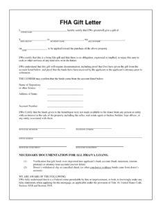 550 Credit Score Home Loan >> FHA-Gift-Letter - FHA Mortgage Lenders